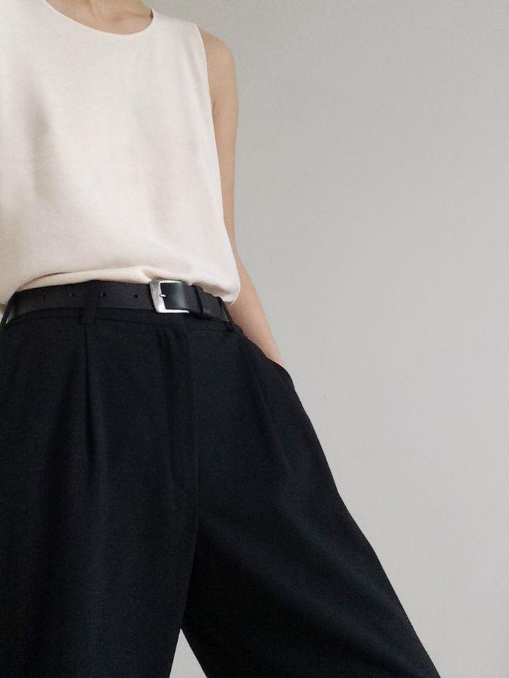 Structure   Black Trousers   Classic   Minimalist   TheUNDONE #beundone