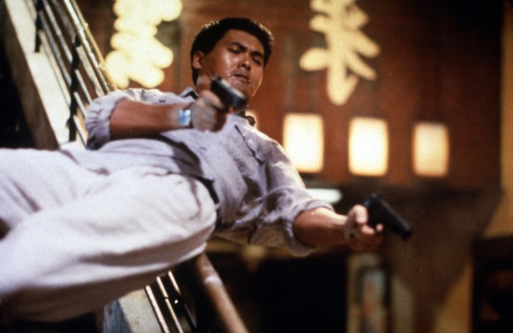 """Tequila/Chow Yun Fat from John Woo's """"Hard Boiled"""". The absolute best action movie of all time!"""