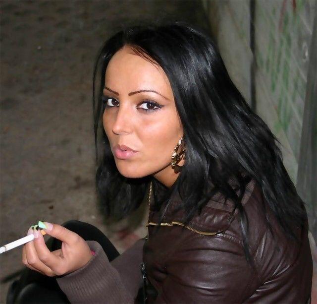 Beauty smoking misty 120 in leather jacket 3
