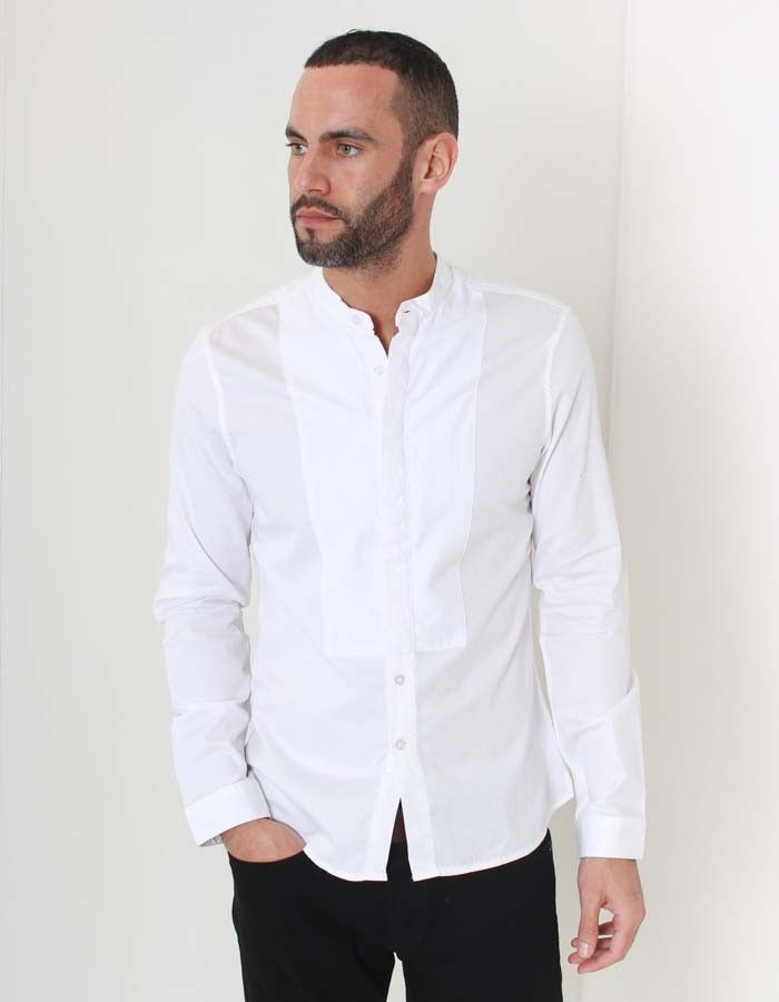 Pearly King White Divison Shirt | Accent Clothing