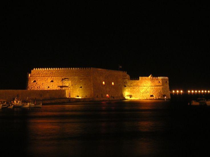 """""""Koules"""" Castle in Heraklion"""