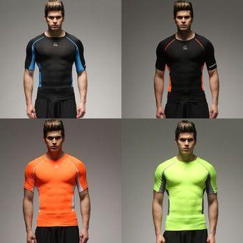 2015 nieuwe mannen panty t- shirt outdoor sportkleding voetbal training fitness kleding wicking - product ID : 60243478939 - m.dutch.alibaba.com