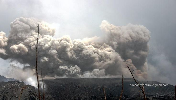 Gunung Ibu, Ibu Volcano is  with elevate 1325m asl.  Ibu Volcano still continuesly eruption with also Active Lava Dome stil Growing, this update on october 2013