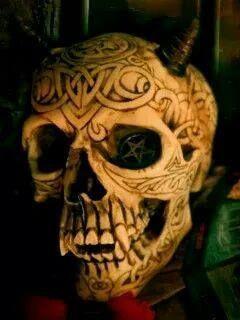 Skulls:  Horned #Skull.