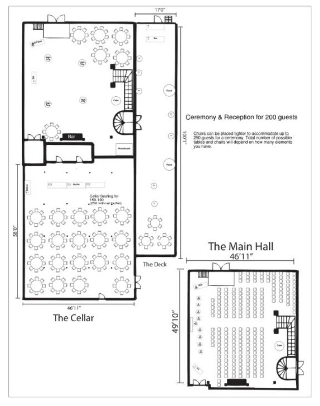 33 Best Images About Floor Plans For Weddings On Pinterest