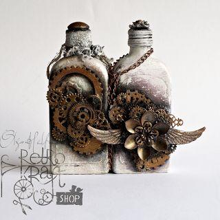 Искусство и ремесла держать меня в здравом уме .....: Ретро Крафт магазин в первый раз !!!