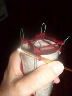 pletení na špulce