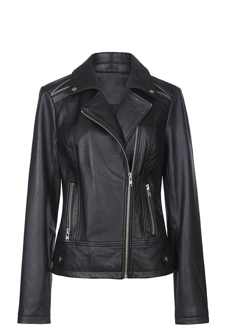 Leather Biker Jacket for Tall Women | Long Tall Sally USA