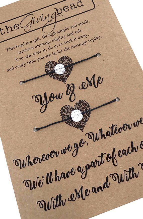 YOU & ME pulseras pulseras de la amistad / madre e hija