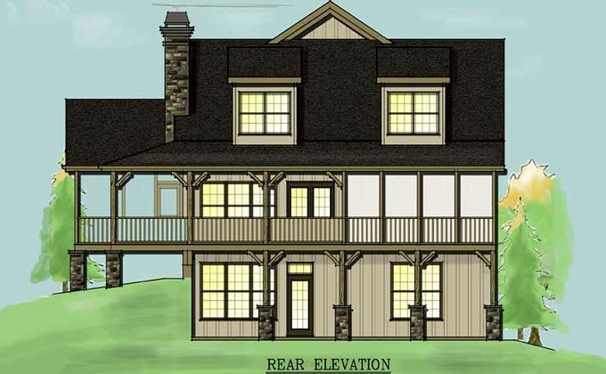 97 best log cabin images on pinterest log houses wood for Mountain vacation house plans