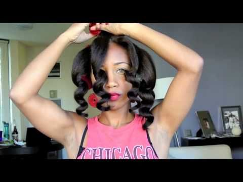 This tutorial is amazing, and unlike any heatless curls I've seen!