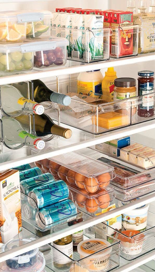 One of these days I need to just clean out the fridge and organize it like this