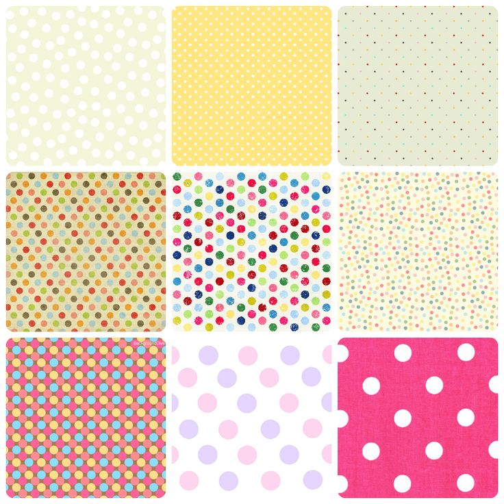 Wallpaper Polka Dots / Fondos de lunares | Creative Mindly