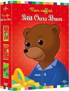 Petit Ours Brun – Coffret: Petit Ours Brun veut s'habiller tout seul, Petit Ours Brun jardine, Le Noël de Petit Ours Brun