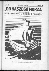 Od Naszego Morza 1933, R. 5, nr 8