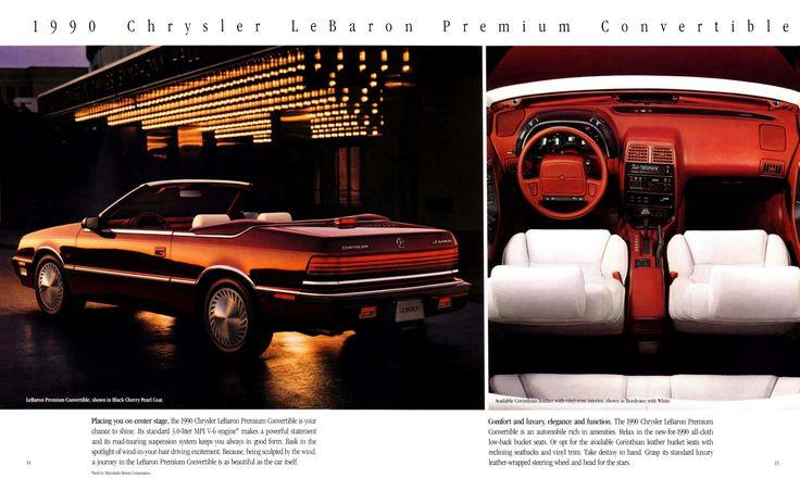 1990 Chrysler Le Baron Premium Convertible in 2020