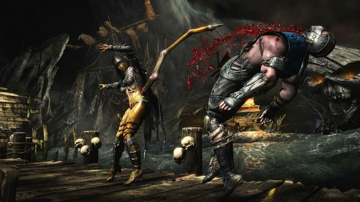 'Mortal Kombat X' won't be coming to last-gen consoles after all. #games #gaming #mortalkombatx