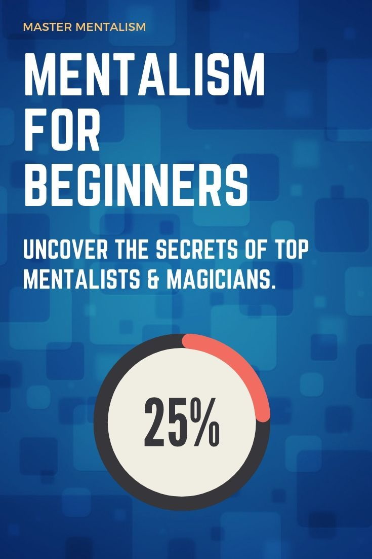 Pin On How To Be A Mentalist