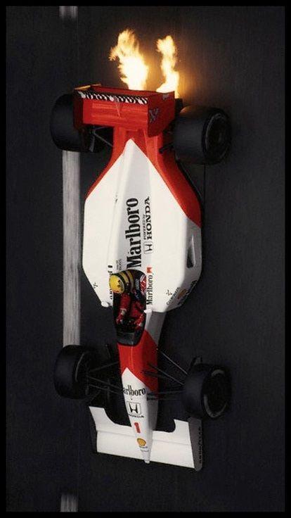Monaco 1991 Ayrton Senna