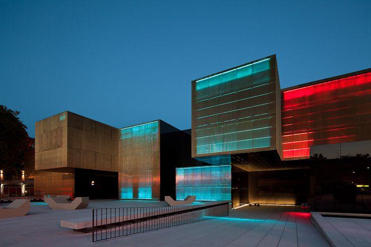 Beautiful architecture buildings designs the Arts Jose Guimaraes
