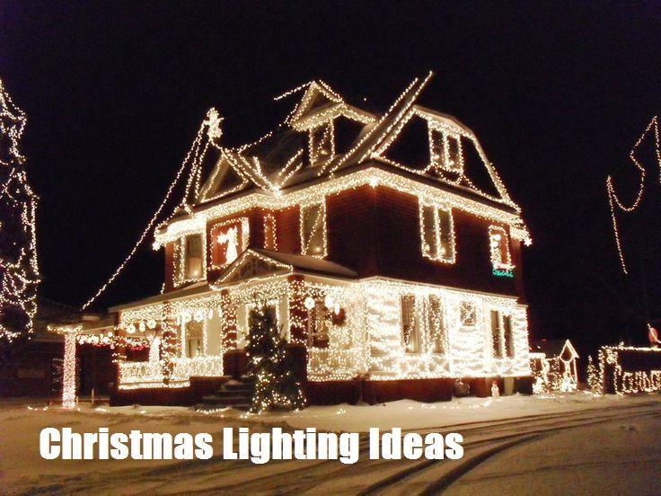 Christmas Lighting Creative Ideas Outdoor Christmas Lights Outdoor Christmas Christmas Light Installation