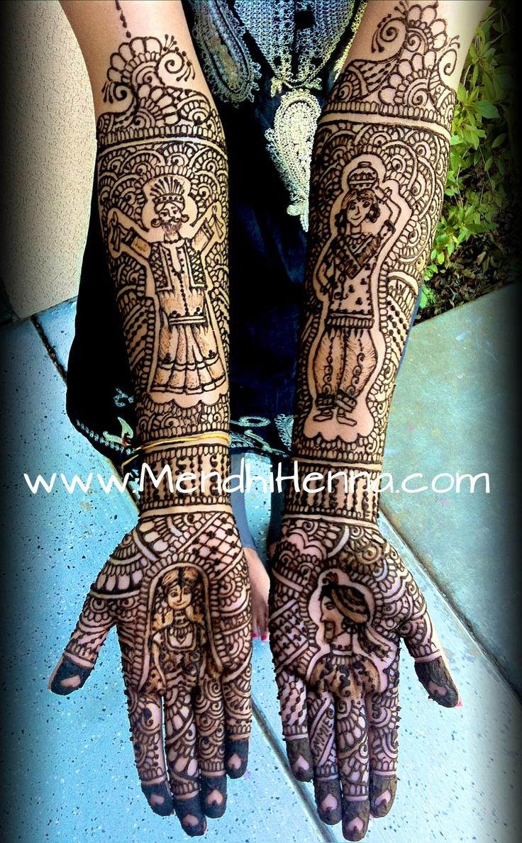 50 intricate henna tattoo designs art and design 50 - Rajasthani Henna