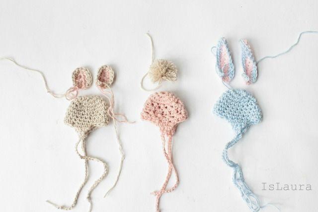 Cappellini a crochet per uova di Pasqua : islaura http://islaura.it/cappellini-a-crochet-per-le-uova-di-pasqua/