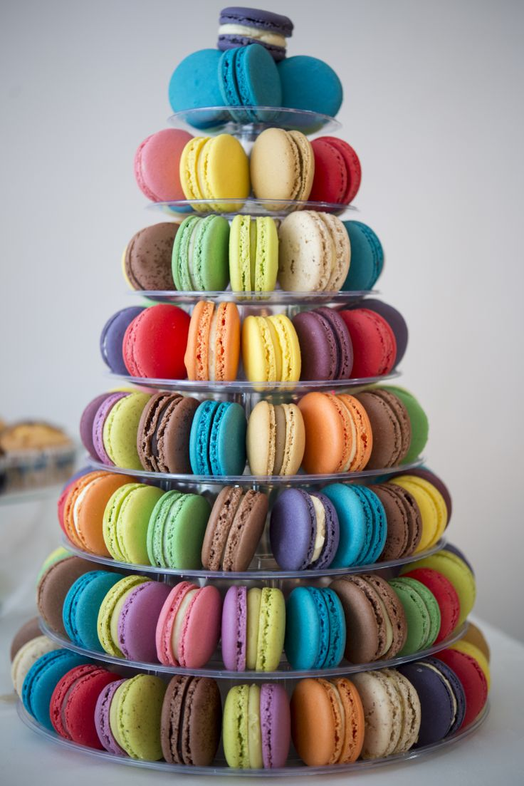 Macarons for candy bar - Boheme delices francaises