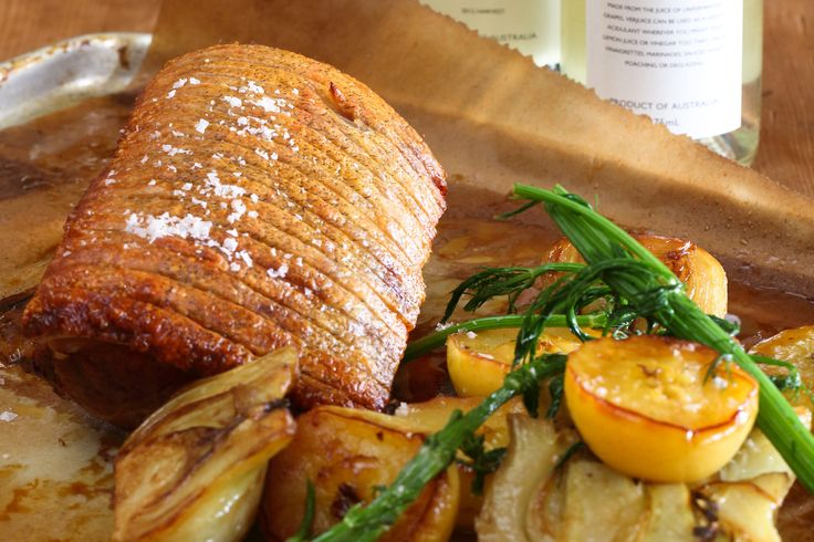 Berkshire Pork Loin with Fennel and Apple Cider - Maggie Beer