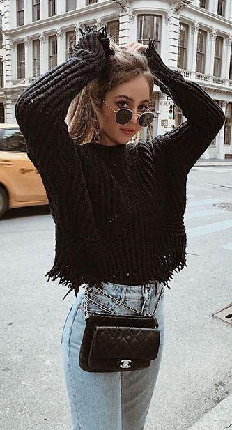 45 Niedliche Winter-Outfits, die Sie haben müssen. 2/30 #Winter #Outfits # 2019