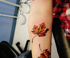 Ive always wanted maple leaves for a tattoo.
