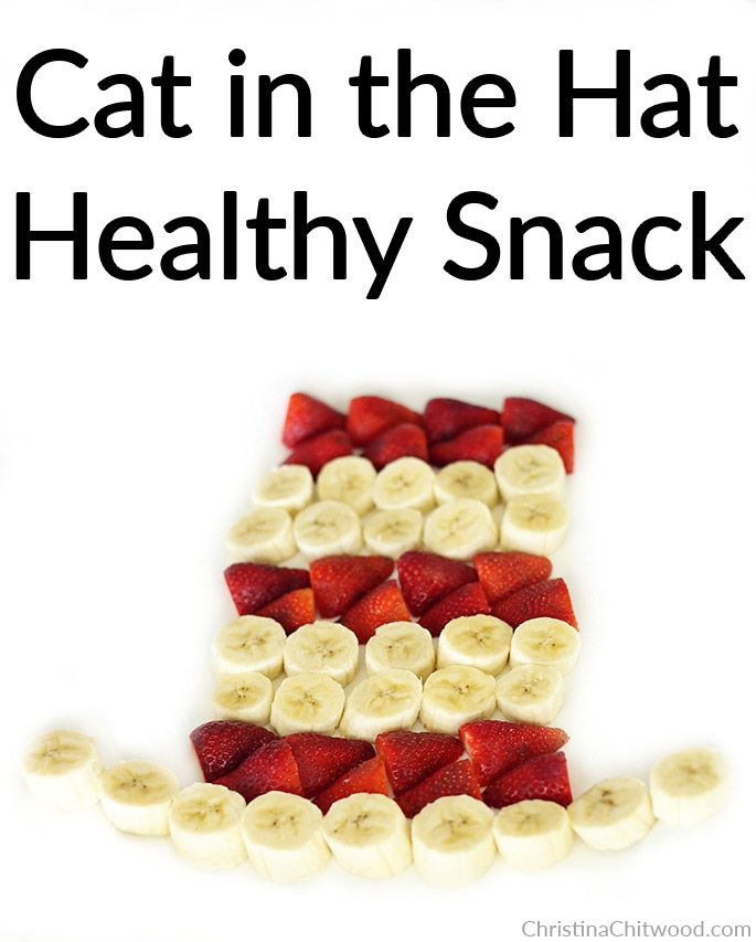 Cat in the Hat Healthy Snack