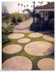 disc pavers, the less I'd have to mow