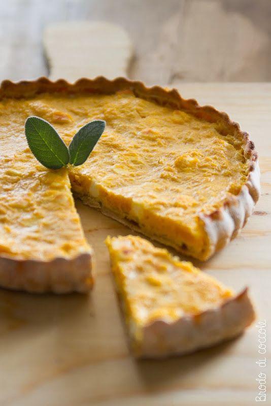 Per mordere il gusto dell'autunno e goderne a bocconi grossi c'è la torta salata…