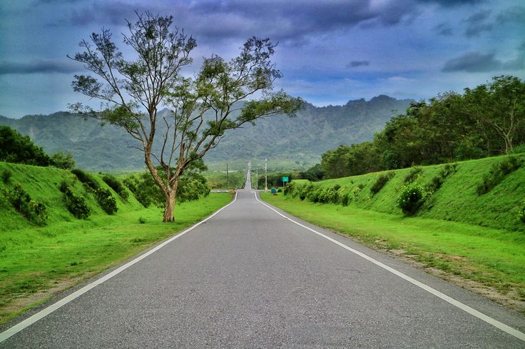 Long way out #long #road #landscape #from #taiwan