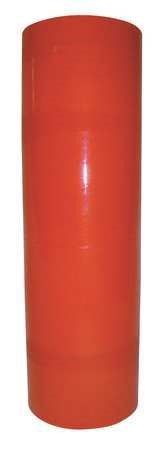15A987 Stretch Wrap Film, Orange, 1500 ft.L, 18In