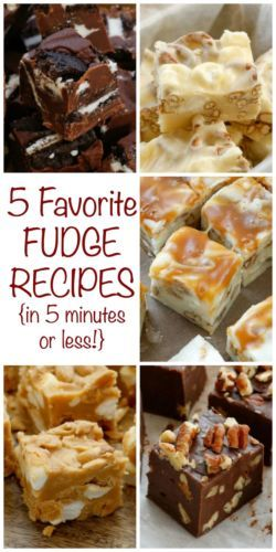 Who doesn't love fudge? Whether it's filled with nuts, loaded with caramel, rich creamy chocolate, or stacked with peanut butter, there is a fudge for any occasion.