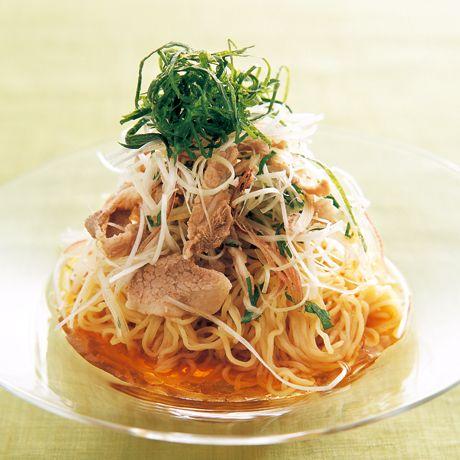 香り冷やし中華   小澤弘之さんのそばの料理レシピ   プロの簡単料理レシピはレタスクラブネット