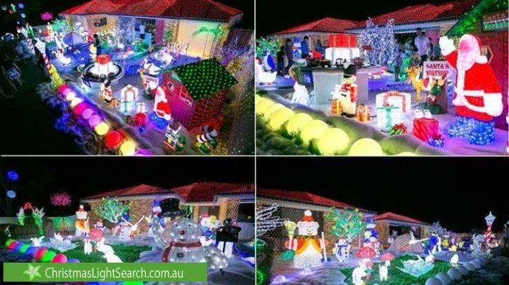 Christmas Lights at25 Lacewood Circuit, Warnerhttp://xmaslights.co/warner