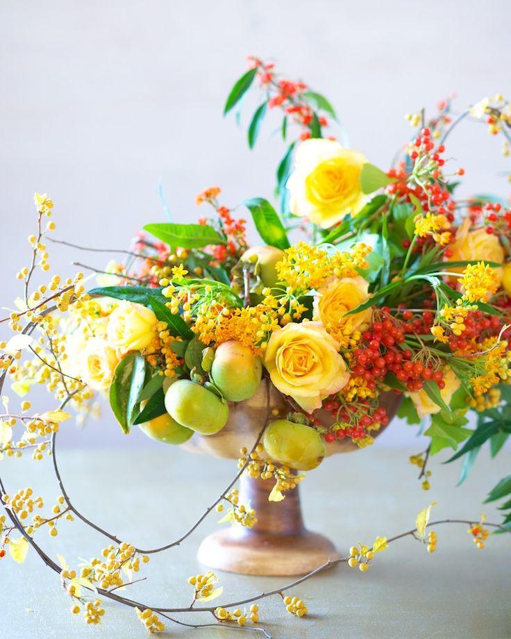 DIY   Autumn Color Series Floral Tutorial: Yellow   Tulipina.com