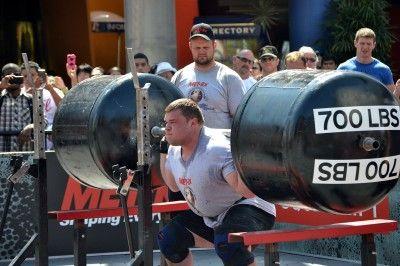 Vytautas Lalas, World's Strongest Man