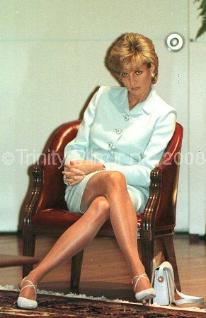 June 1996:  Princess Diana attends a Breast Cancer Symposium at Northwest University in Chicago.