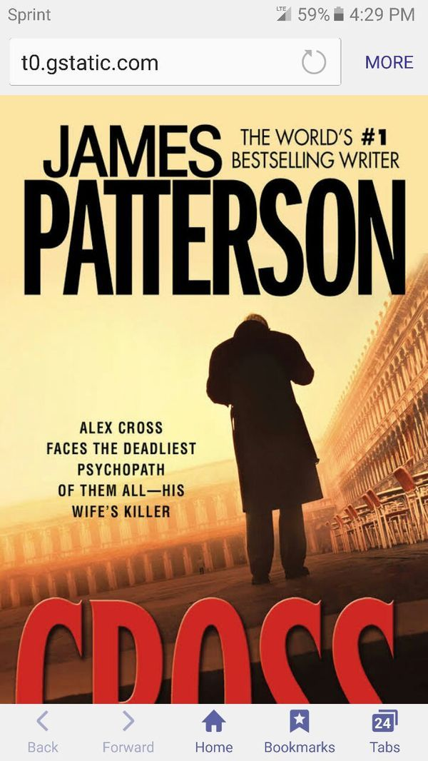 CROSS by James Patterson DC/HC FIRST EDITION