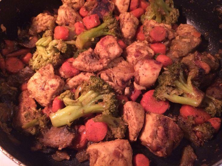 Nil's stir fried chicken :)