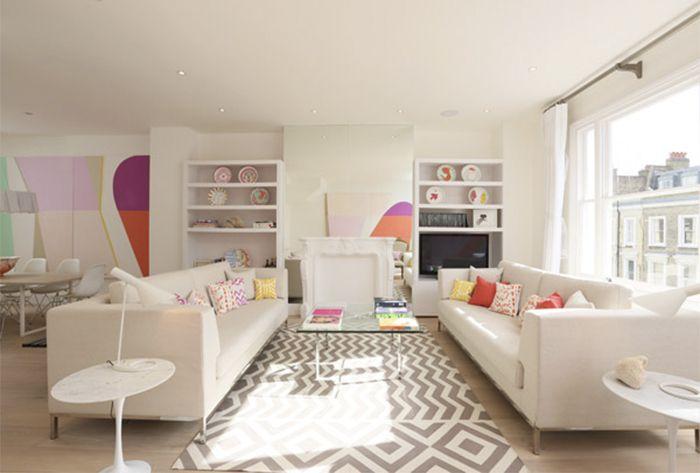 Пастельный интерьер лондонской квартиры   Enjoy Home