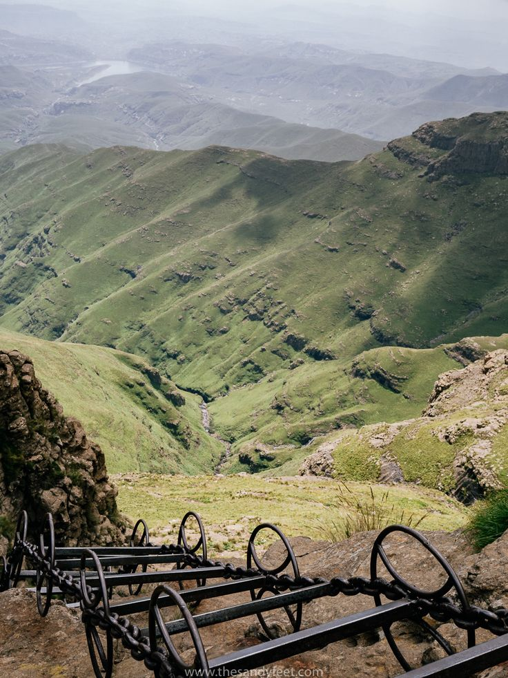 Hiking the Amphitheatre Trail in the Drakensberg, South Africa