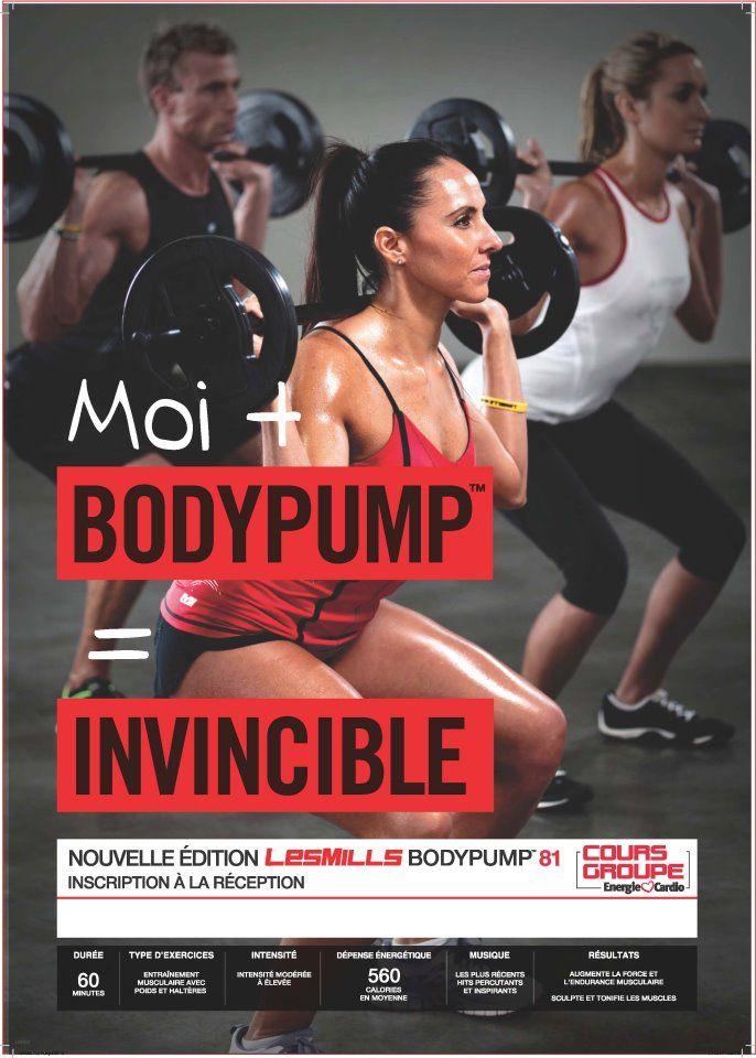 LesMills BODYPUMP™ est le cours en groupe de musculation numéro 1 au monde, exclusif @Énergie Cardio.