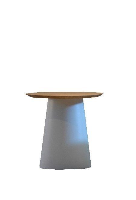 Jan Kurtz Feel Wood Beistelltisch - weiß/Nussbaum - Ø 80 cm Jetzt bestellen unter: https://moebel.ladendirekt.de/wohnzimmer/tische/beistelltische/?uid=e4facbba-10ba-585d-98b0-8ad50b5c9a34&utm_source=pinterest&utm_medium=pin&utm_campaign=boards #beistelltische #wohnzimmer #tische