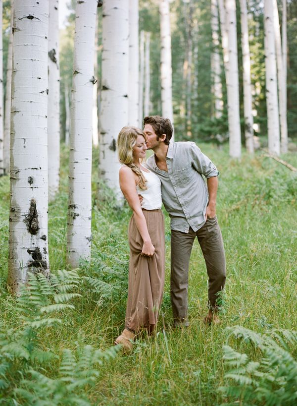 Prairie Engagement Shoot via oncewed.com