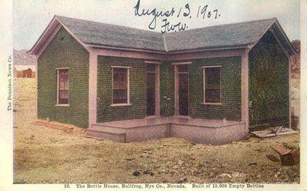 Glass Bottle House Circa 1907?